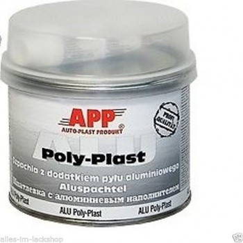 Aluminiumspachtel Poly Plast 0,6 Kg inkl.Härter APP