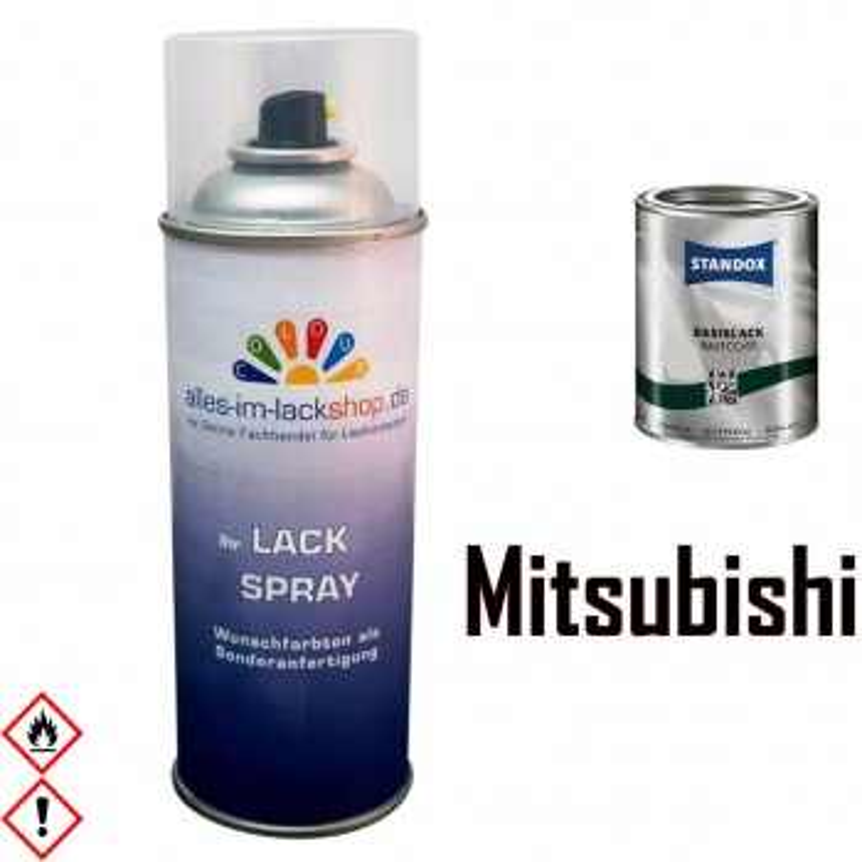 Autolack MITSUBISHI Spraydose 400ml Farbcode