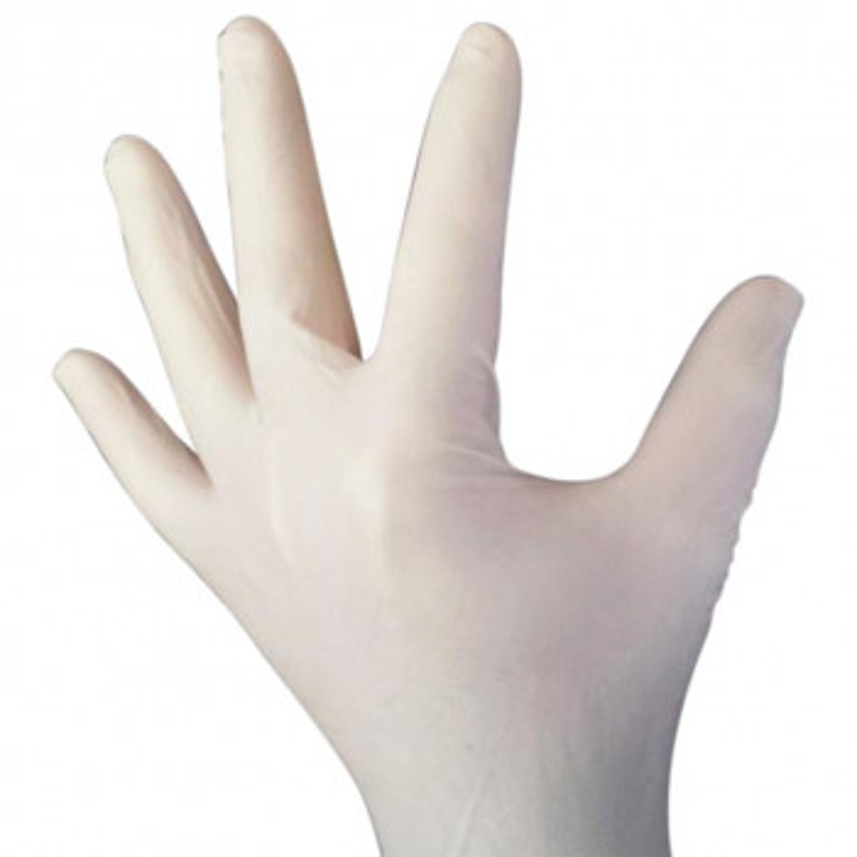 Latex Einweghandschuhe Einmalhandschuhe Latex puderfrei 100 Stück