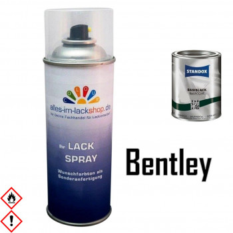 Autolack BENTLEY Spraydose 400ml Farbcode