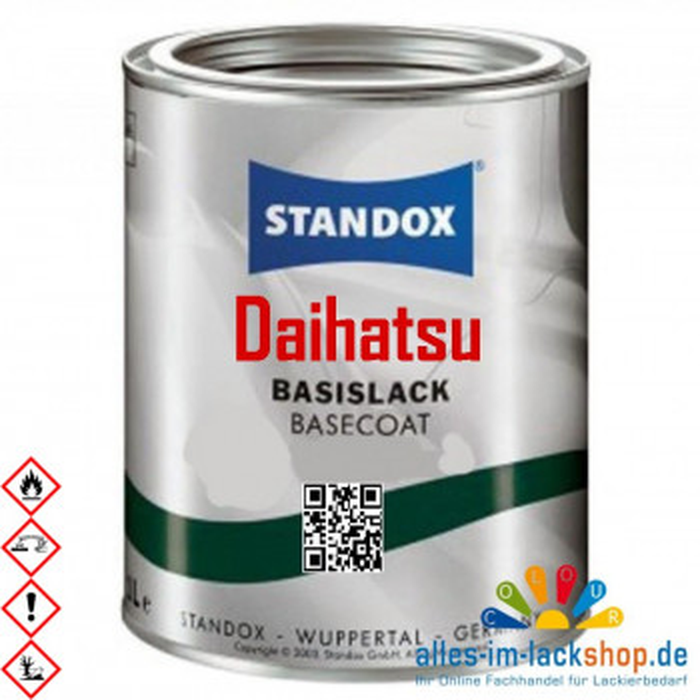 Autolack DAIHATSU STANDOX Metallic Basislack für Lackierpistole