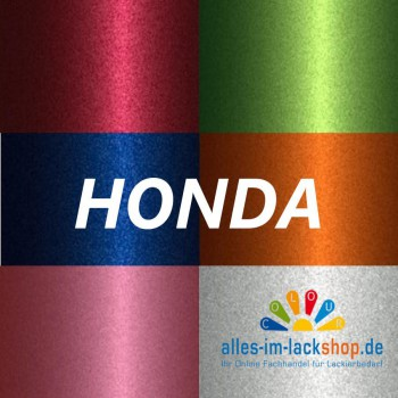 HONDA FARBTON nach FARBCODE Metallic Basislack Autolack Spraydose 400 ml