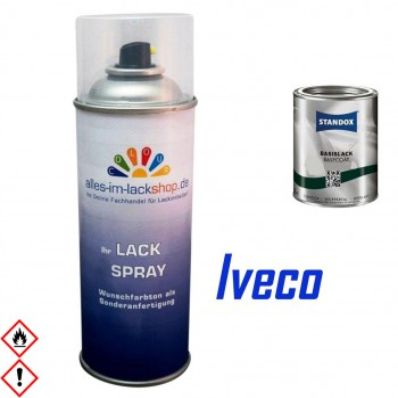 LKW Lack IVECO Spraydose 400ml Farbcode