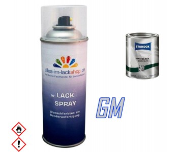 Autolack GENERAL MOTORS Spraydose 400ml Farbcode
