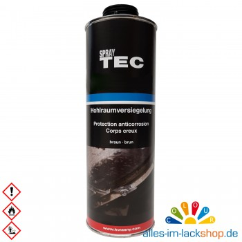 Spray Tec Hohlraumversiegelung Braun 1 Liter