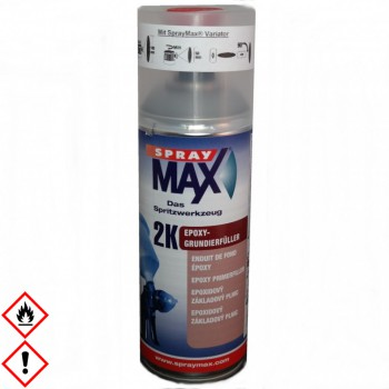 2K Epoxy Grundierfüller Spraymax 400ml Spraydose grau