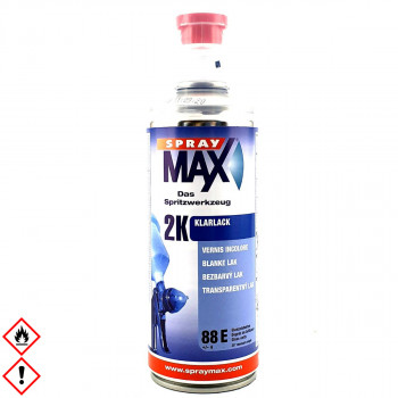 2K Klarlack Spraydose 400ml Spraymax glänzend