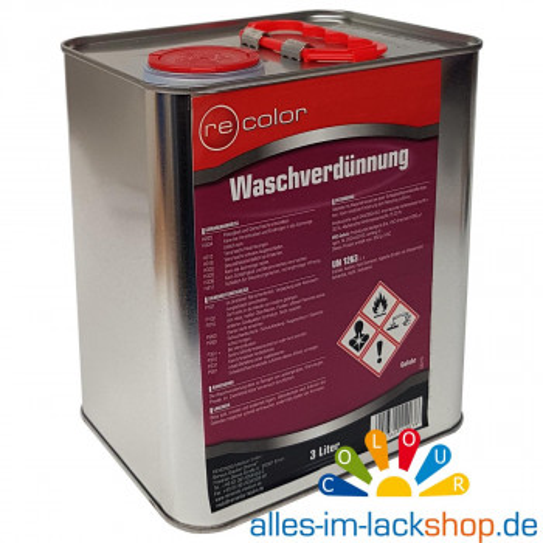 Waschverdünnung ReColor 3 Liter Verdünnung zur Reinigung von Werkzeugen