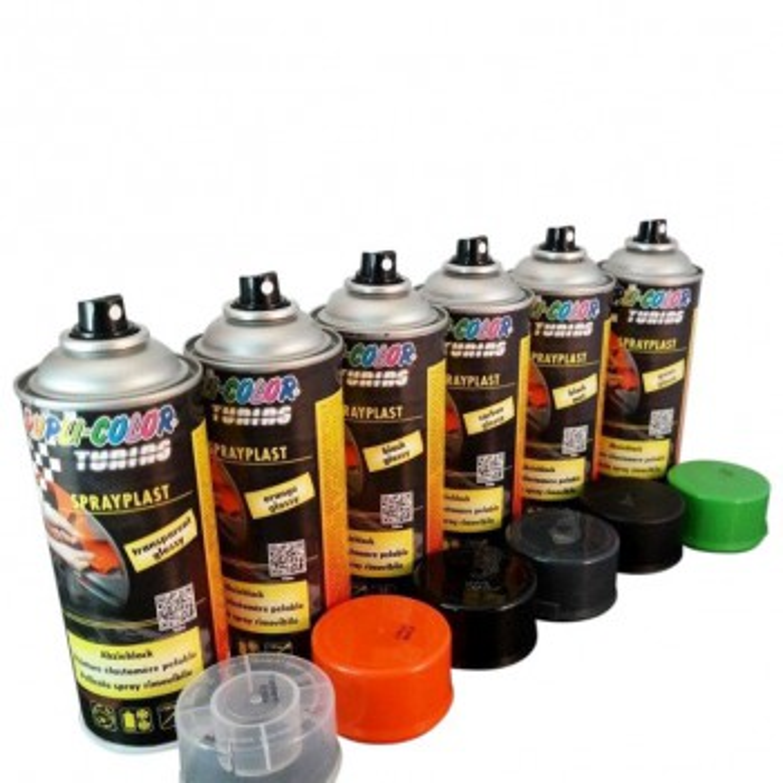 Dupli Abziehlack, Flüssiglack, Sprühfolie, Gummilack, Flüssiggummi, 400ml Spray