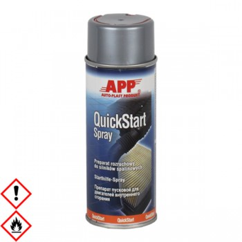 Quick Start, Starterspray, Starthilfe 400 ml, app 212002