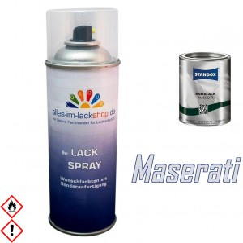 Autolack MASERATI Spraydose 400ml Farbcode