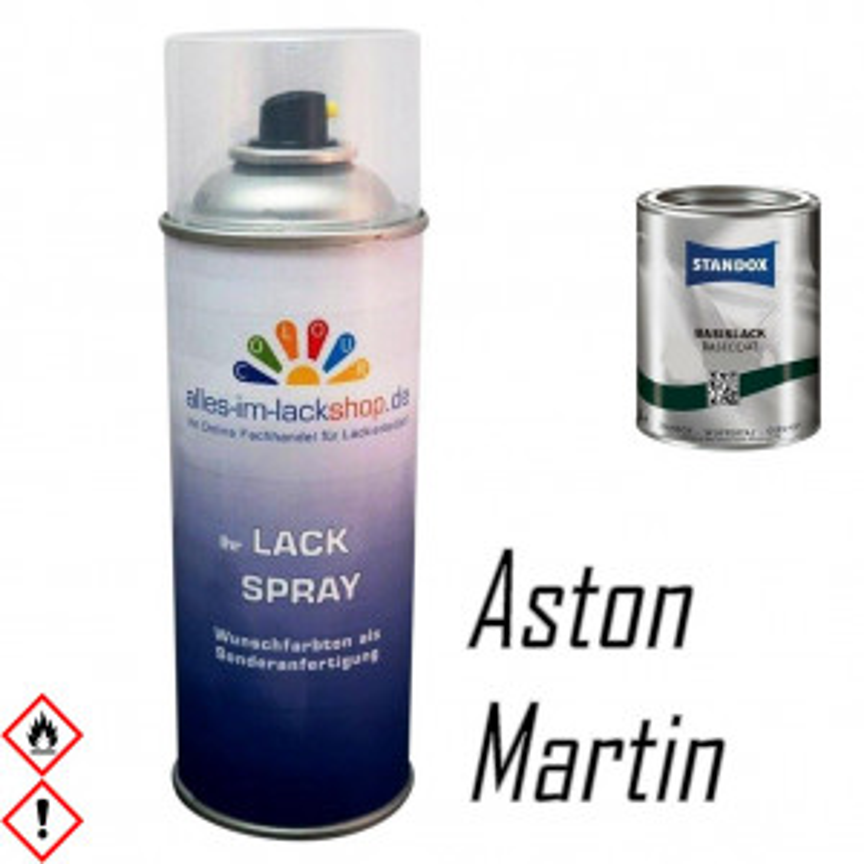 ASTON MARTIN Autolack Spraydose 400ml Farbcode