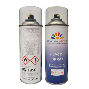 Leuchtrot RAL 3024 Tagesleuchtfarbe Neonfarbe Spraydose 400ml