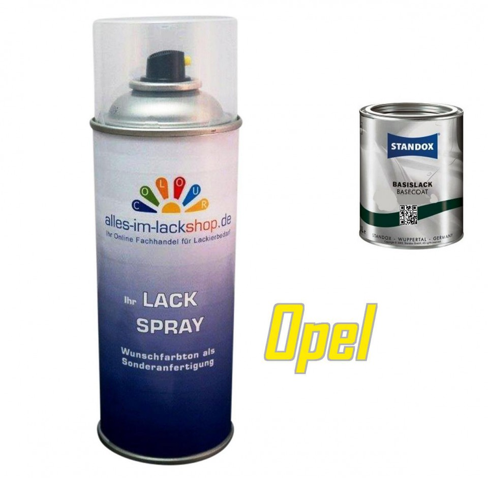 autolack opel spraydose 400ml farbcode. Black Bedroom Furniture Sets. Home Design Ideas
