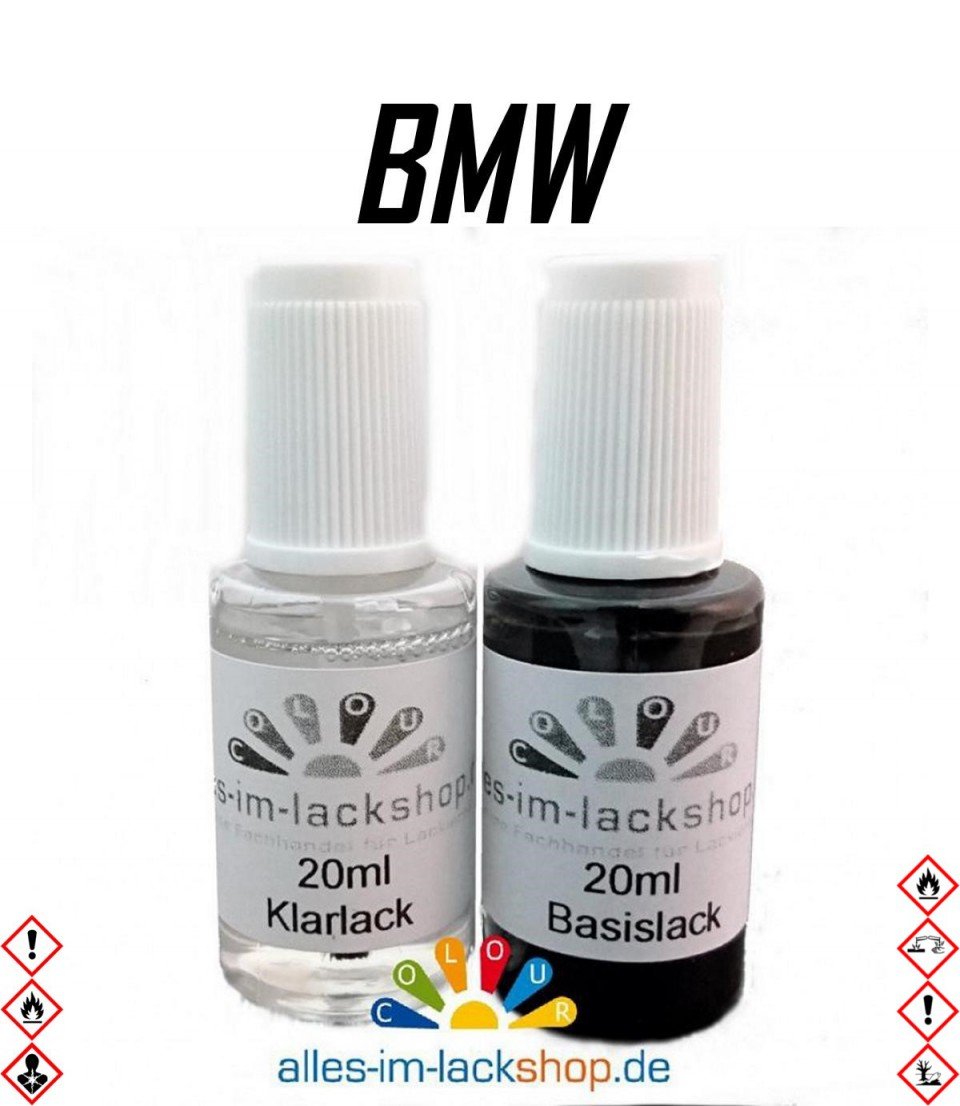 lackstift bmw autolack tupflack pinselflasche 20ml set. Black Bedroom Furniture Sets. Home Design Ideas