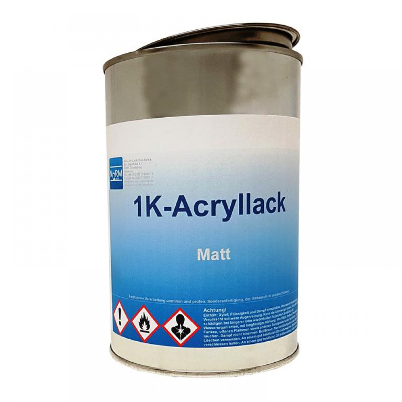 mattlack matter lack lackfarbe streichlack spritzlack 1kg. Black Bedroom Furniture Sets. Home Design Ideas