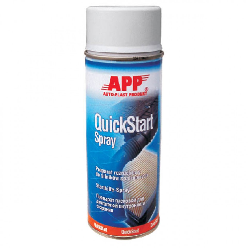 how to use quick start spray