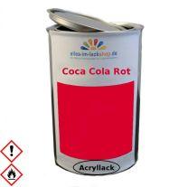 COCA COLA rot 1K Acryllack lösemittelhaltig 1Liter