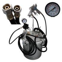 Lackierpistole Farbdruckkessel Farbspritzanlage 10 Liter mit Spritzpistole 2,0mm Düse