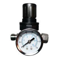 """Druckluftminderer, Druckluftregler mit Manometer 1/4"""" Zoll"""