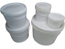 Kunststoffeimer mit Henkel für Farben Lacke Lebensmittel in verschiedenen Größen