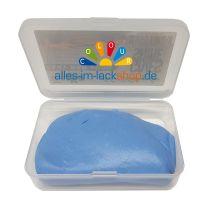 Reinigungsknete Blau 200gr mit Aufbewahrungsbox Polierknete Lackreinigungsknete