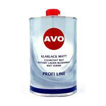 AVO 2K Klarlack Matt 1 Liter