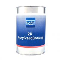 Norm 2K Acrylverdünnung Acryl Verdünner für Lack Klarlack Grundierung Füller 1 L