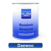 Autolack DAEWOO NormQualität Metallic Basislack für Lackierpistole