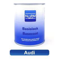 Autolack AUDI NormQualität Metallic Basislack für Lackierpistole