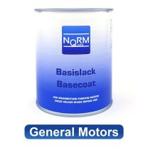 Autolack GENERAL MOTORS NormQualität Metallic Basislack für Lackierpistole