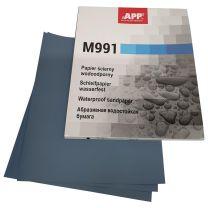 APP M991 Schleifpapier wasserfest 230 x 280 mm P120