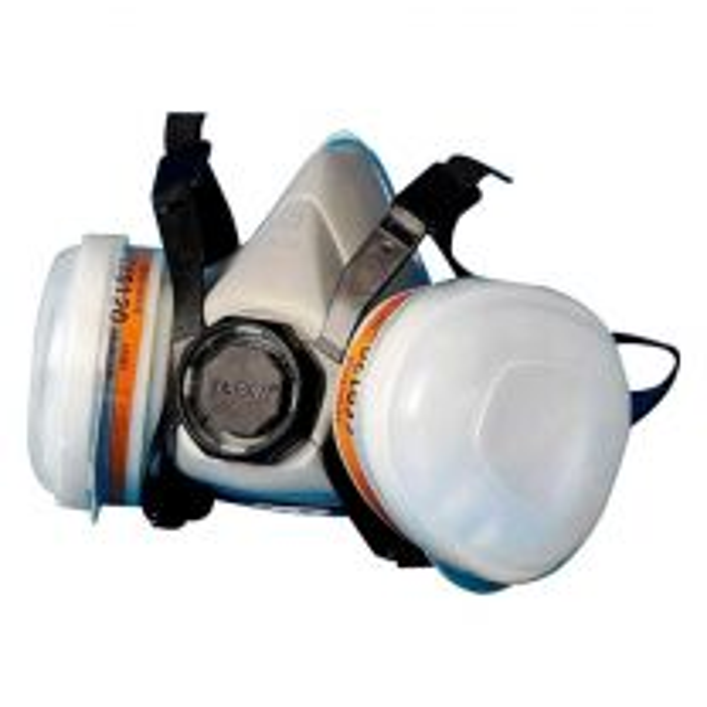 Lackiermaske Atemschutzmaske Maske mit Aktivkohlefilter Medium