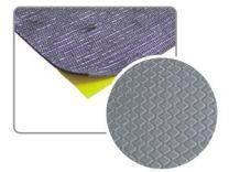 Antidröhnplatte, Antidröhnmatte mit Aluminiumschicht 50x50cm selbstklebend