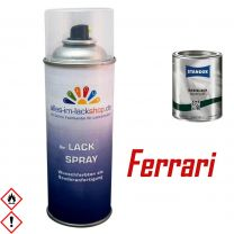 Autolack FERRARI Spraydose 400ml Farbcode