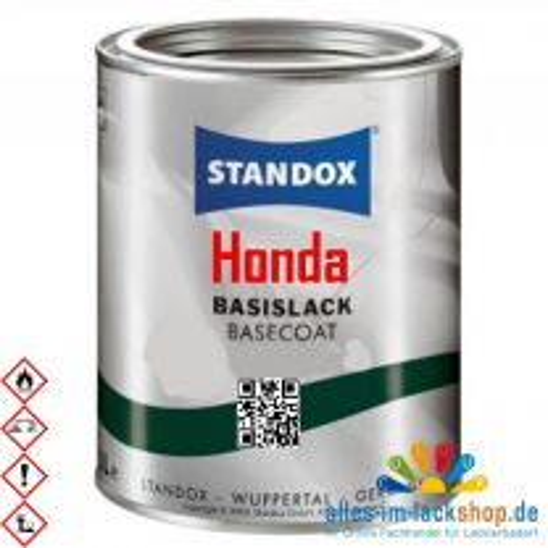 Autolack HONDA STANDOX Metallic Basislack für Lackierpistole
