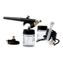 Airbrush Pistole im Set Air Brush Kit EW-110 mit Zubehör