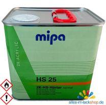 "MIPA 2K Härter HS25 ""normal"" für Acryl Klarlack 2,5 Liter"