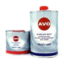 AVO 2K Klarlack Matt Set 1,5 Liter inkl Härter