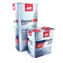 2K HS Klarlack Spezial S 5 Liter + 2,5 Liter Härter XLHN normal, 2:1, 020110