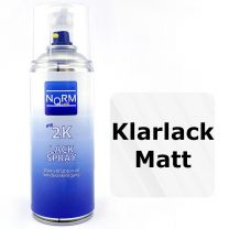 2K Klarlack matt Spraydose Lackversiegelung Überzugslack 400ml