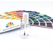 Pinselflasche Tupflack Lackstift mit Kunstharzlack nach RAL NCS Pantone 20ml