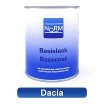Autolack DACIA NormQualität Metallic Basislack für Lackierpistole