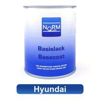 Autolack HYUNDAI NormQualität Metallic Basislack für Lackierpistole