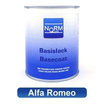 Autolack ALFA ROMEO NormQualität Metallic Basislack für Lackierpistole